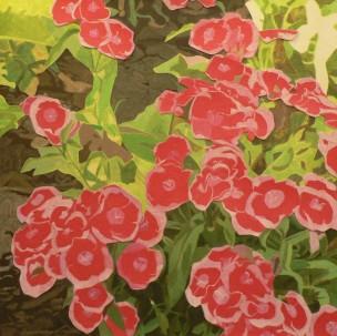 Parterre de fleurs à San Diego